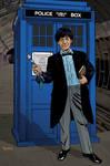 2nd Doctor and TARDIS