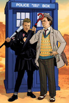 Ace and 7th Doctor