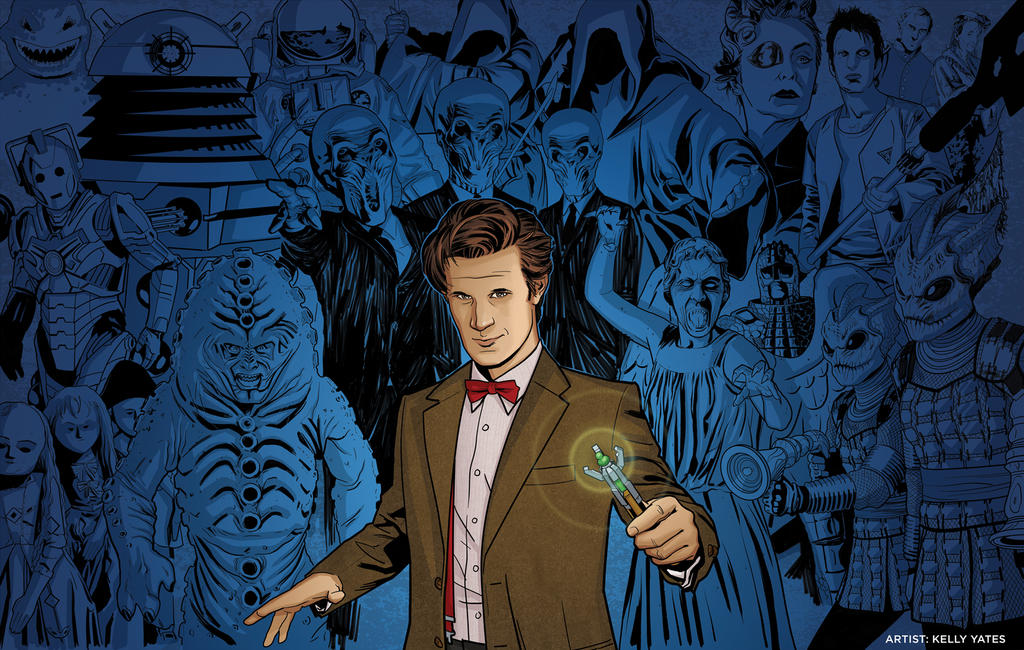 11th Doctor_Villains by KellyYates