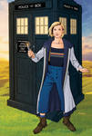 13th Doctor and TARDIS