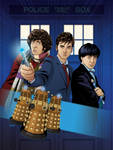 Doctor Who: The Animated Collection Back Cover