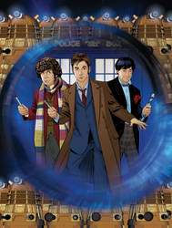 Doctor Who: The Animated Collection Front Cover