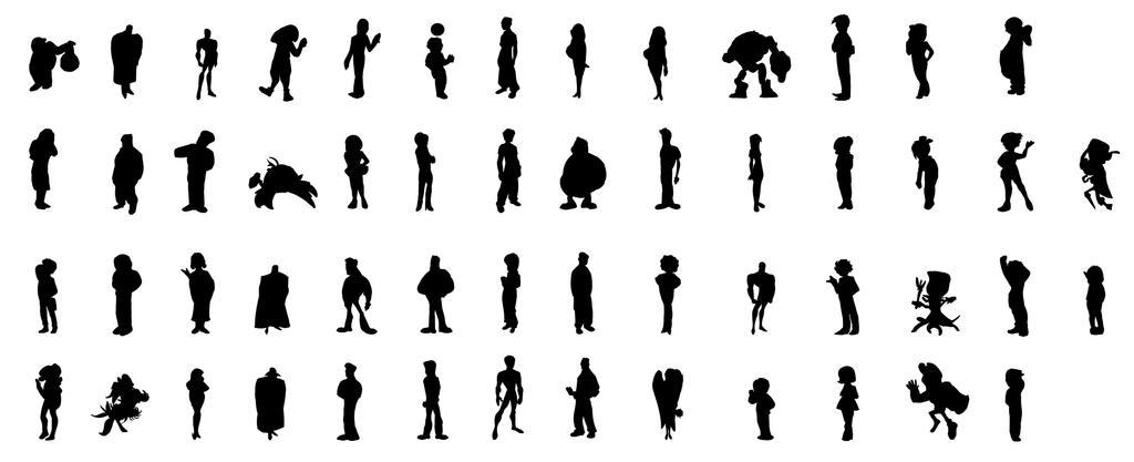 Personajes by sayjoo