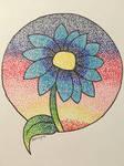 Blue Flower by BreDemonal24