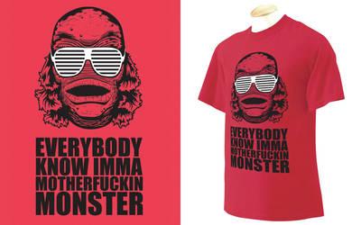 Monster by BombtasticDynamo