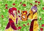 Ryoko and Kenichi by Nhan-SnakeX