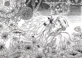 Angel in the Forbidden Garden by Nhan-SnakeX