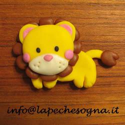 magnet lion