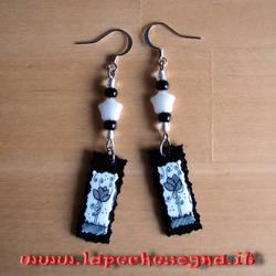 Tulips earrings handmade