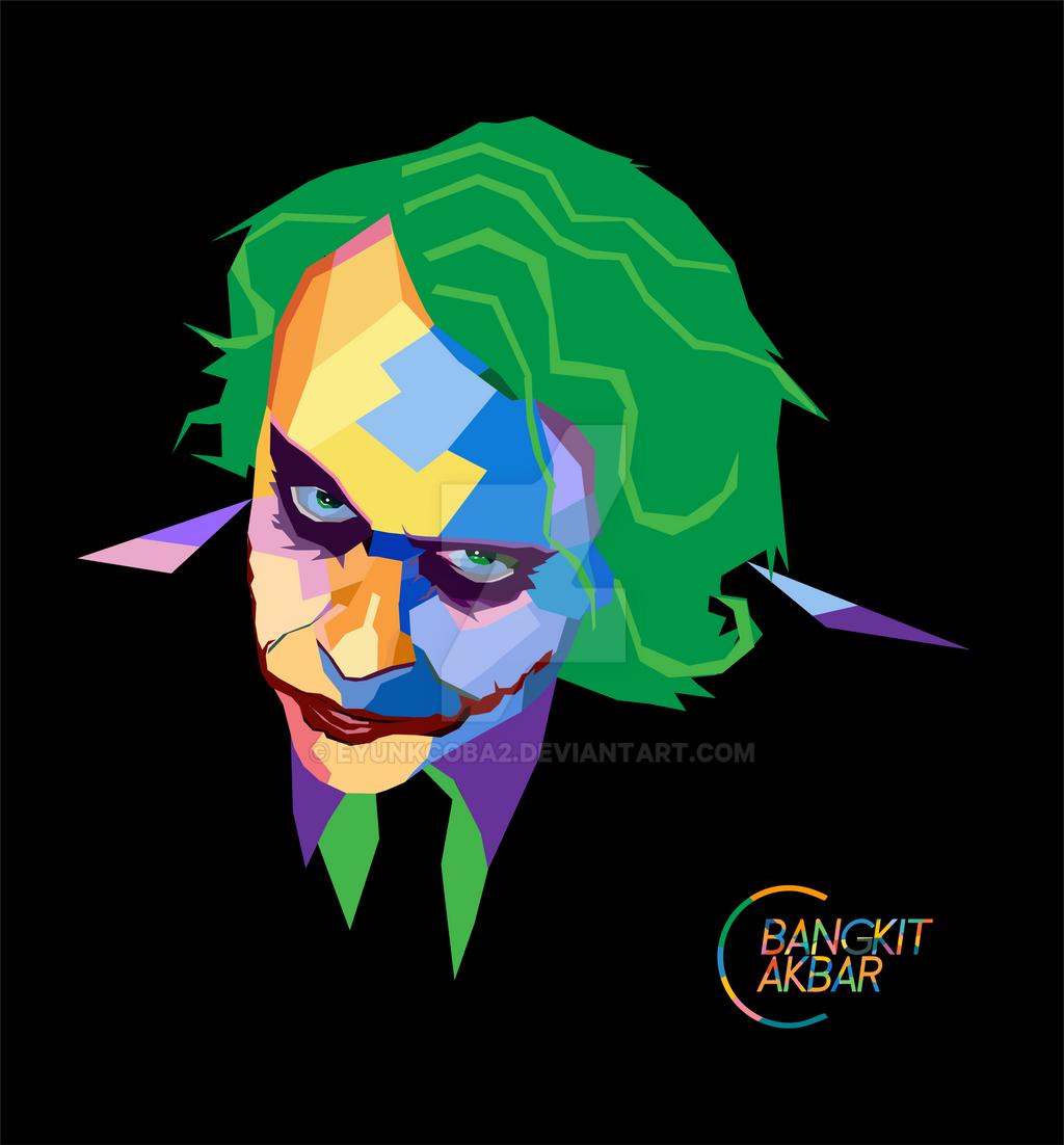 WPAP The Joker By EyunkCoba2 On DeviantArt