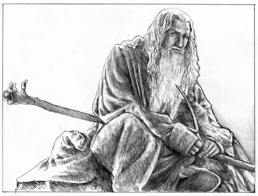 Gandalf by AlessiaPelonzi