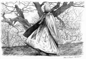 Jane in the moorland by AlessiaPelonzi