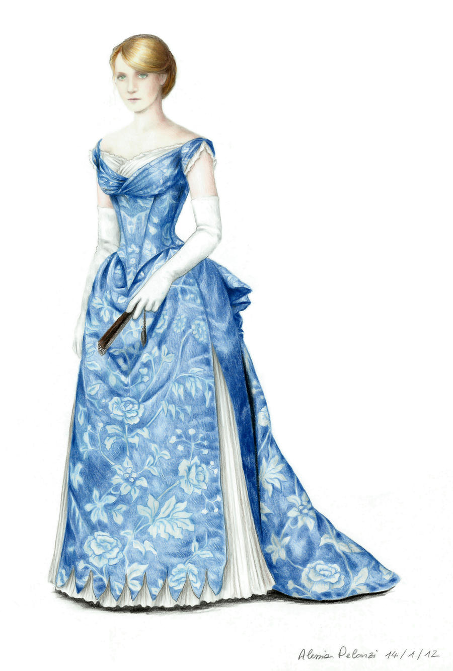 ball gown dress drawings - photo #12