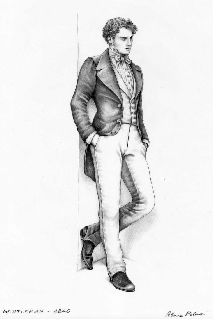 Gentleman by AlessiaPelonzi on DeviantArt