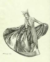 Thranduil by AlessiaPelonzi