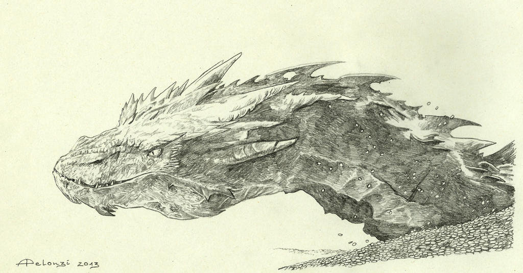 Smaug by AlessiaPelonzi