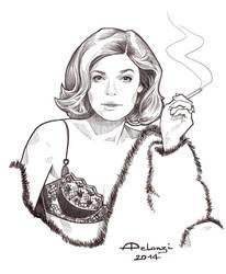 Mrs Robinson by AlessiaPelonzi