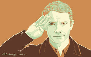 Captain John Watson by AlessiaPelonzi