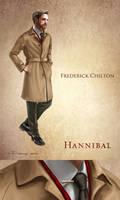 Frederick Chilton - Costume sketch