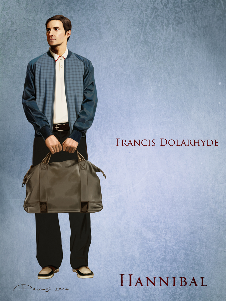 Francis Dolarhyde - Costume sketch by AlessiaPelonzi