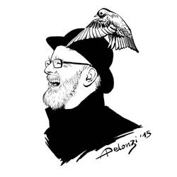 Terry Pratchett by AlessiaPelonzi