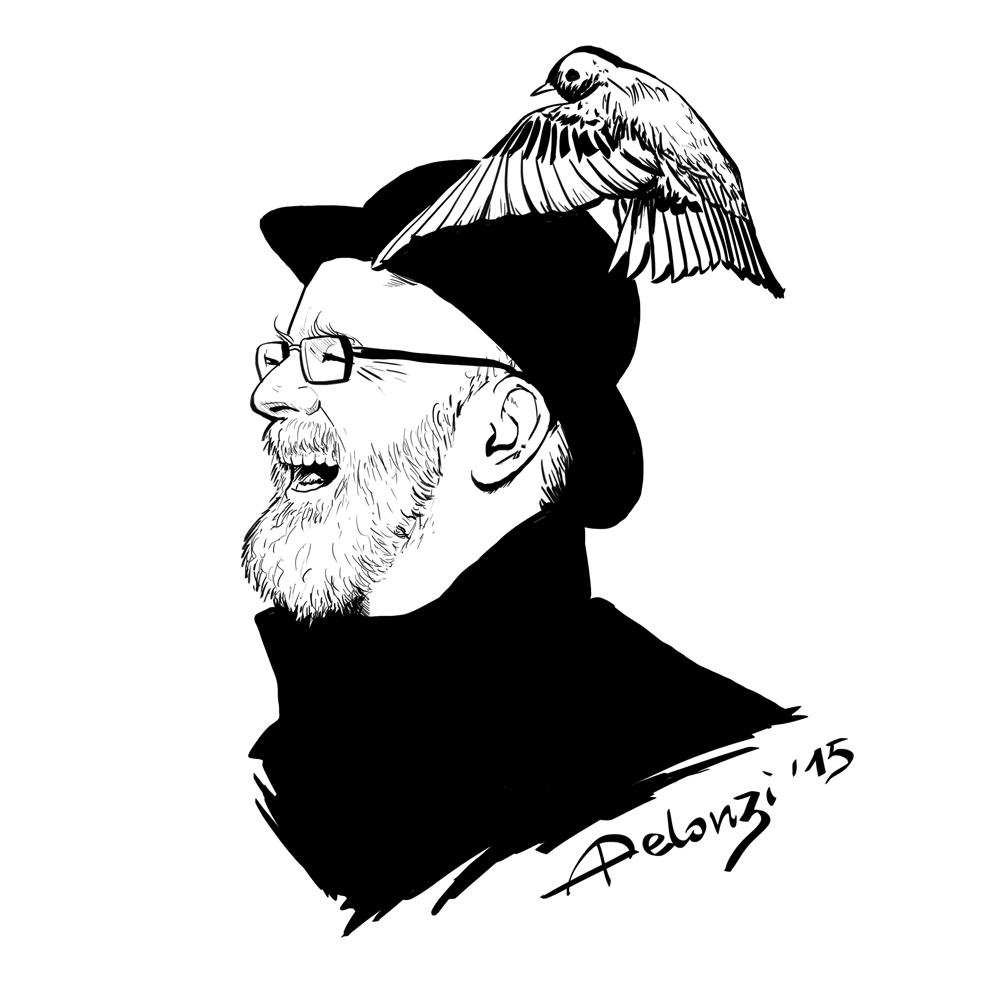 Terry Pratchett by AlessiaPelonzi