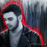 Portrait of Lorenzo Fragola by AlessiaPelonzi