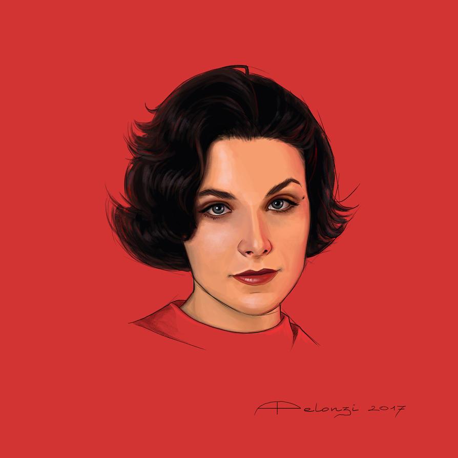 Audrey Horne by AlessiaPelonzi