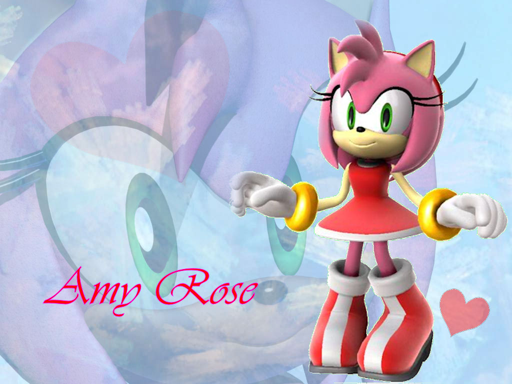 Amy rose wallpaper by moneybee on deviantart amy rose wallpaper by moneybee voltagebd Gallery