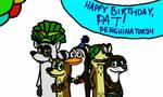 Happy Birthday, Penguinator24 by FanDusk64