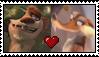 Buck X Scratte Stamp by FanDusk64
