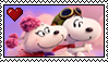 Snoopy X Fifi Stamp by FanDusk64