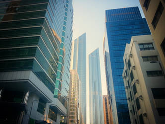 Walking On Abu Dhabi Streets by MohamedAlmansory