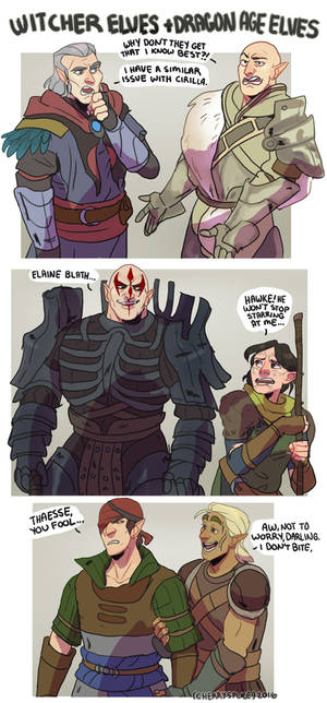 DRAGON AGE: THE WITCHER: ELVES