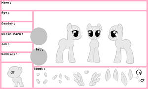 MLP Female Reference Sheet