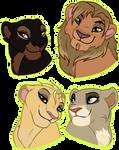 Lion Busts