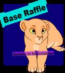 Raffle: Laying Cub Base- Closed
