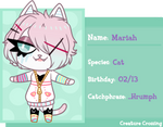 Creature-Crossing Application: Mariah by oCrystal