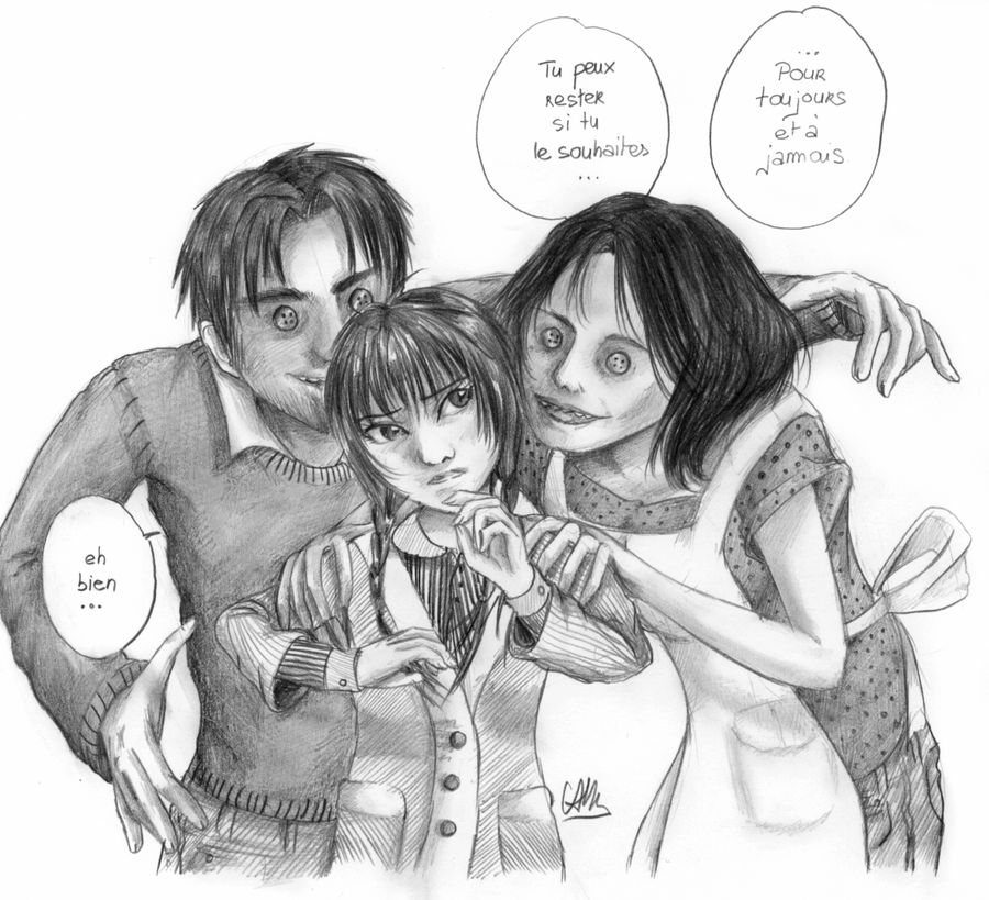 Coraline S Other Family By Cam Miyu On Deviantart