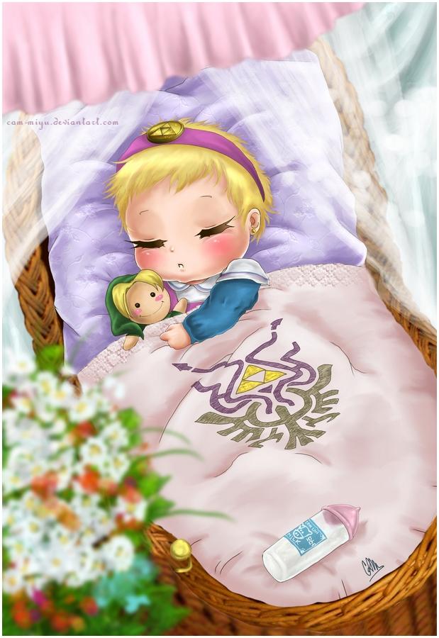 Baby zelda cam