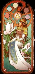 Art Nouveau ZELDA by cam-miyu