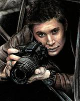 Dean Winchester. by cam-miyu