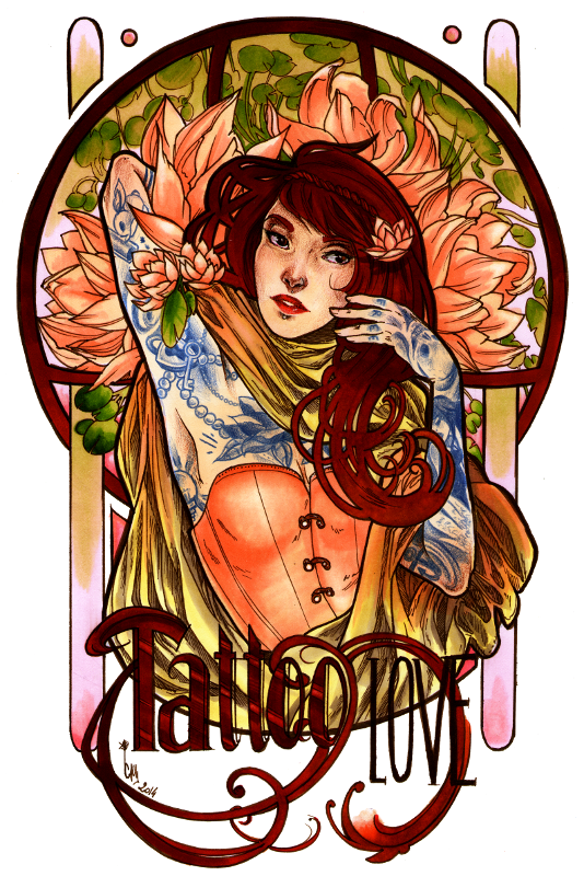 Cammiyu, l'amoureuse d'art nouveau ! Tattoo_love_by_cam_miyu-d74476z