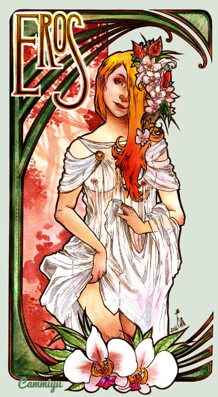 Cammiyu, l'amoureuse d'art nouveau ! Eros_by_cam_miyu-d74yxa9