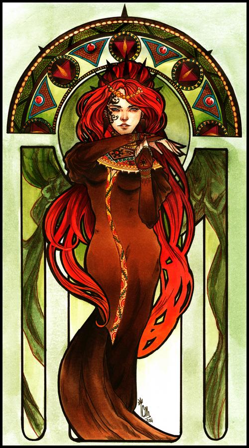 Lady Odessa by cam-miyu