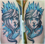 Ice Queen Tattoo