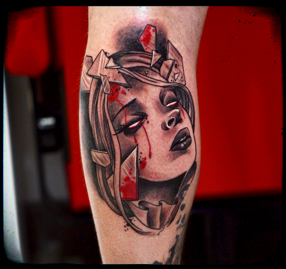 Bloody Mary tattoo by cam-miyu