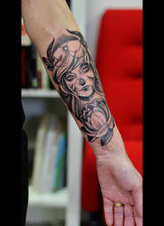 Broken doll Tattoo