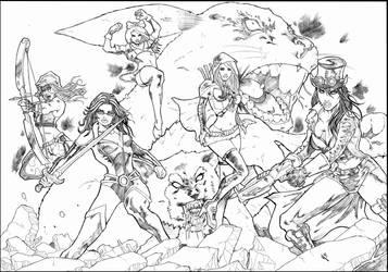 Grimm Fairy Tales by hakanlogan