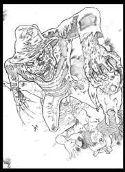Freddy Krueger by hakanlogan